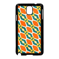 Chains And Squares Pattern 			samsung Galaxy Note 3 Neo Hardshell Case (black) by LalyLauraFLM