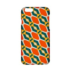 Chains And Squares Pattern 			apple Iphone 6/6s Hardshell Case by LalyLauraFLM