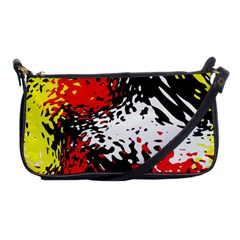 Glass Texture  			shoulder Clutch Bag by LalyLauraFLM