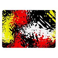 Glass Texture  samsung Galaxy Tab 10 1  P7500 Flip Case by LalyLauraFLM