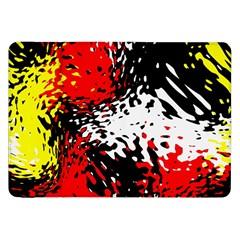 Glass Texture  samsung Galaxy Tab 8 9  P7300 Flip Case by LalyLauraFLM