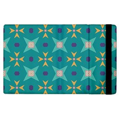 Flowers And Stars Pattern   			apple Ipad 2 Flip Case by LalyLauraFLM