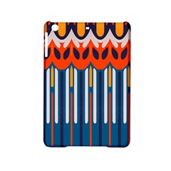 Textured Shapes In Retro Colors    			apple Ipad Mini 2 Hardshell Case by LalyLauraFLM