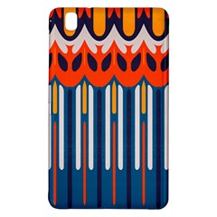 Textured Shapes In Retro Colors    samsung Galaxy Tab Pro 8 4 Hardshell Case by LalyLauraFLM
