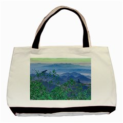 Fantasy Landscape Photo Collage Basic Tote Bag (two Sides) by dflcprints