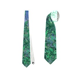 Fantasy Landscape Photo Collage Neckties (two Side)