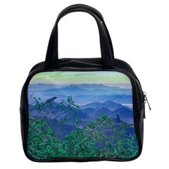 Fantasy Landscape Photo Collage Classic Handbags (2 Sides) by dflcprints