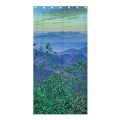 Fantasy Landscape Photo Collage Shower Curtain 36  X 72  (stall)  by dflcprints