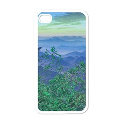 Fantasy Landscape Photo Collage Apple Iphone 4 Case (white) by dflcprints