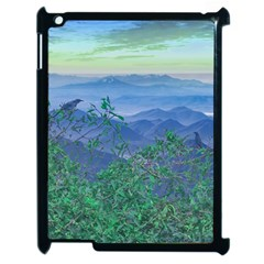 Fantasy Landscape Photo Collage Apple Ipad 2 Case (black) by dflcprints