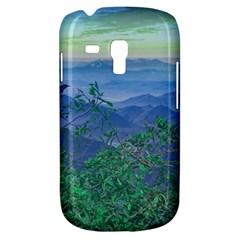 Fantasy Landscape Photo Collage Samsung Galaxy S3 Mini I8190 Hardshell Case by dflcprints