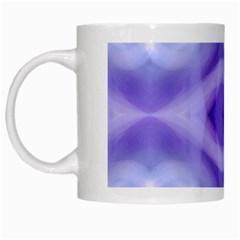 Beautiful Blue Purple Pastel Pattern, White Mugs by Costasonlineshop