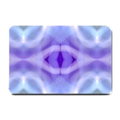 Beautiful Blue Purple Pastel Pattern, Small Doormat  by Costasonlineshop