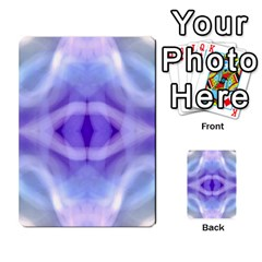 Beautiful Blue Purple Pastel Pattern, Multi Purpose Cards (rectangle)  by Costasonlineshop