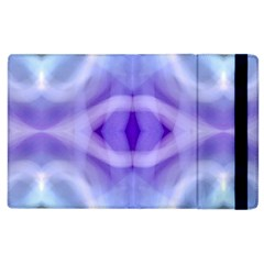 Beautiful Blue Purple Pastel Pattern, Apple Ipad 3/4 Flip Case by Costasonlineshop