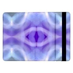 Beautiful Blue Purple Pastel Pattern, Samsung Galaxy Tab Pro 12 2  Flip Case
