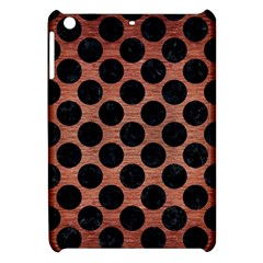 Circles2 Black Marble & Copper Brushed Metal (r) Apple Ipad Mini Hardshell Case by trendistuff