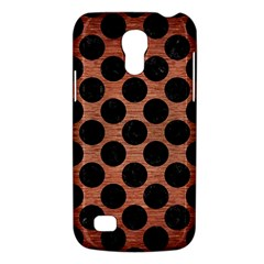 Circles2 Black Marble & Copper Brushed Metal (r) Samsung Galaxy S4 Mini (gt I9190) Hardshell Case  by trendistuff