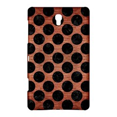 Circles2 Black Marble & Copper Brushed Metal (r) Samsung Galaxy Tab S (8 4 ) Hardshell Case  by trendistuff