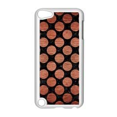 CIR2 BK MARBLE COPPER Apple iPod Touch 5 Case (White) by trendistuff