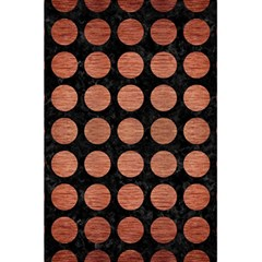 Circles1 Black Marble & Copper Brushed Metal 5 5  X 8 5  Notebook by trendistuff