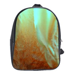 Floating Teal And Orange Peach School Bags(large)  by timelessartoncanvas