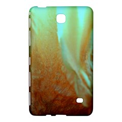 Floating Teal And Orange Peach Samsung Galaxy Tab 4 (8 ) Hardshell Case  by timelessartoncanvas