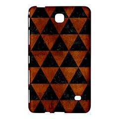 Triangle3 Black Marble & Brown Burl Wood Samsung Galaxy Tab 4 (7 ) Hardshell Case  by trendistuff
