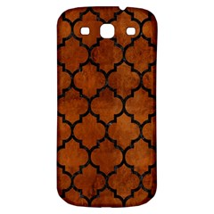 Tile1 Black Marble & Brown Burl Wood (r) Samsung Galaxy S3 S Iii Classic Hardshell Back Case by trendistuff