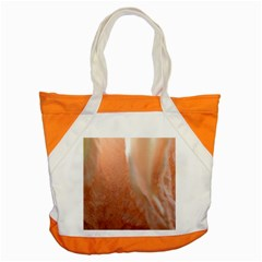 Floating Subdued Peach Accent Tote Bag by timelessartoncanvas