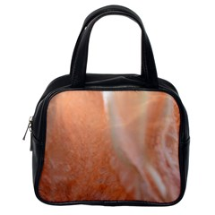 Floating Subdued Peach Classic Handbags (one Side) by timelessartoncanvas