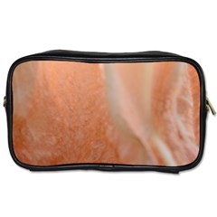 Floating Subdued Peach Toiletries Bags by timelessartoncanvas
