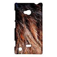 Black Red Hair Nokia Lumia 720 by timelessartoncanvas