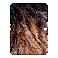 Black Red Hair Samsung Galaxy Tab 4 (10 1 ) Hardshell Case  by timelessartoncanvas