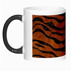 Skin2 Black Marble & Brown Burl Wood (r) Morph Mug by trendistuff