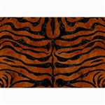 SKIN2 BLACK MARBLE & BROWN BURL WOOD (R) Collage 12  x 18  18 x12 Print - 5