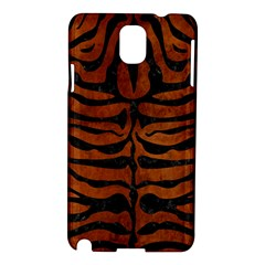 Skin2 Black Marble & Brown Burl Wood (r) Samsung Galaxy Note 3 N9005 Hardshell Case by trendistuff