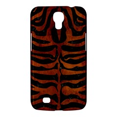 Skin2 Black Marble & Brown Burl Wood Samsung Galaxy Mega 6 3  I9200 Hardshell Case by trendistuff