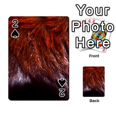 Red Hair Playing Cards 54 Designs