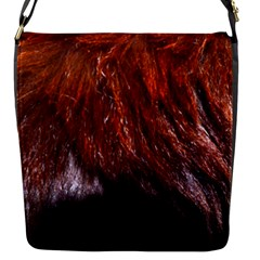 Red Hair Flap Messenger Bag (s) by timelessartoncanvas