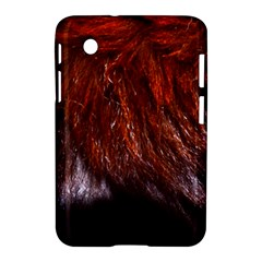 Red Hair Samsung Galaxy Tab 2 (7 ) P3100 Hardshell Case  by timelessartoncanvas