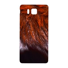 Red Hair Samsung Galaxy Alpha Hardshell Back Case by timelessartoncanvas