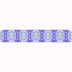 Light Blue Purple White Girly Pattern Small Bar Mats by Costasonlineshop