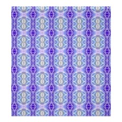 Light Blue Purple White Girly Pattern Shower Curtain 66  X 72  (large)  by Costasonlineshop