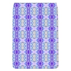 Light Blue Purple White Girly Pattern Flap Covers (s)
