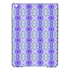 Light Blue Purple White Girly Pattern Ipad Air Hardshell Cases by Costasonlineshop