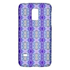 Light Blue Purple White Girly Pattern Galaxy S5 Mini