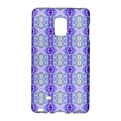 Light Blue Purple White Girly Pattern Galaxy Note Edge