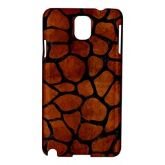 Skin1 Black Marble & Brown Burl Wood Samsung Galaxy Note 3 N9005 Hardshell Case by trendistuff