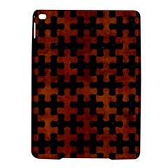 Puzzle1 Black Marble & Brown Burl Wood Apple Ipad Air 2 Hardshell Case by trendistuff